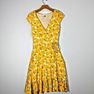 Diane Von Furstenberg Faux Wrap Dress
